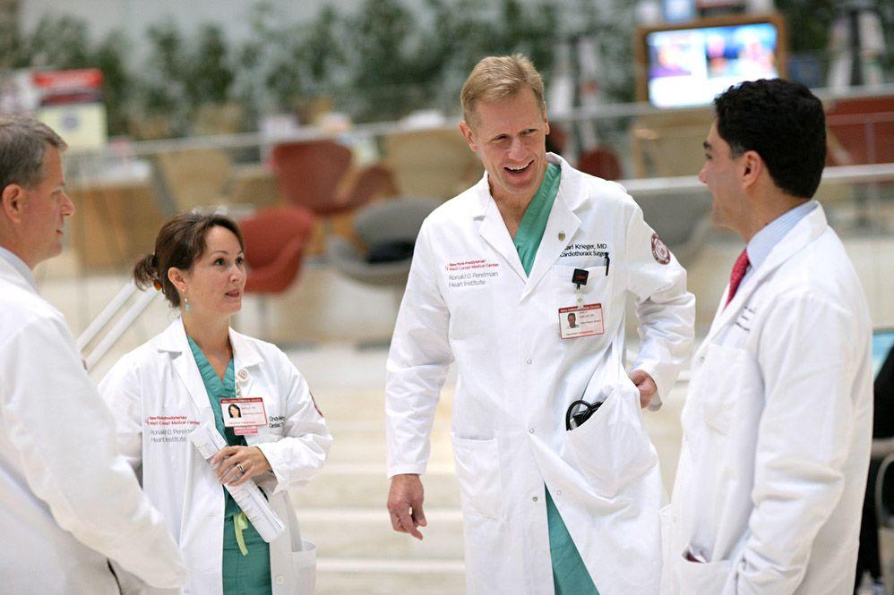 Karl H Krieger, MD Mitral Valve Repair Surgeon