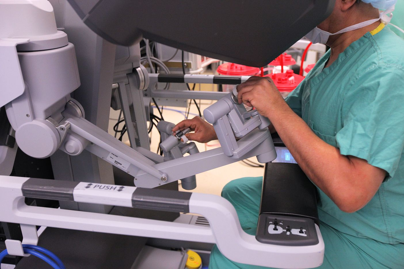 robotic, minimally invasive surgery
