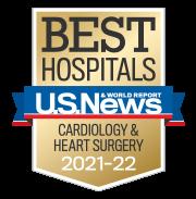 US News Cardiology & Heart Surgery Badge