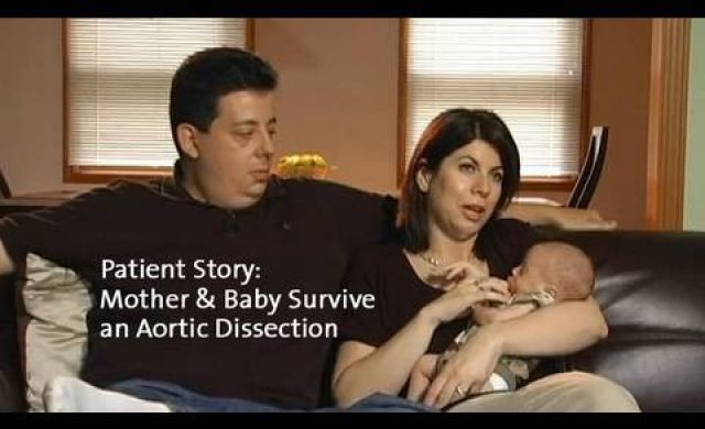 Mother and Baby Survive Aortic Dissection